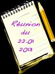 dates réu 22.01.13