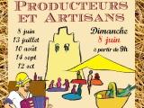 Marché de producteurs le 8 juin àSaint-Julia