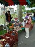 légumes et fleurs